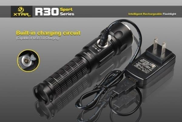 XTAR R30 LED LOMMELYGTE 1000 LUMEN